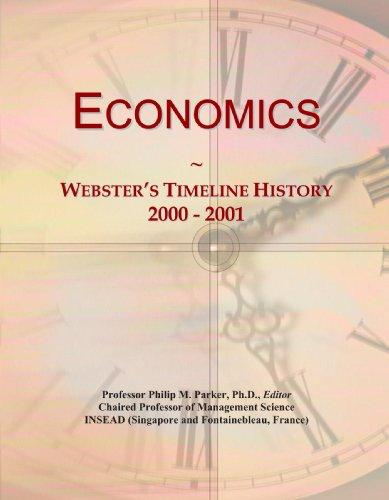 Economics: Webster's Timeline History, 2000 - 2001