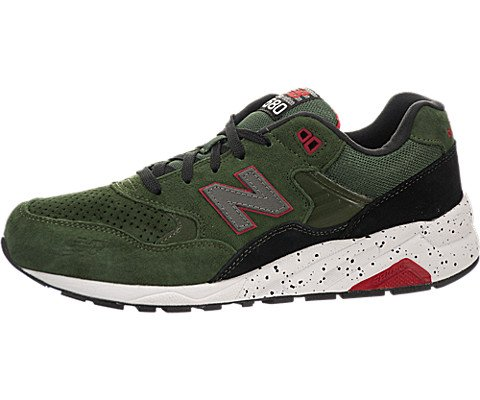New Balance Men'S Mrt580 Halloween Running Shoe,Green/Black,8.5 D Us