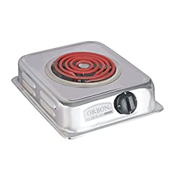 Orbon 1250-Watt G Coil Induction Cooktop / Induction Cookers / Handy G Coil Cooktop(With 2 Mtr. Wire Cord)