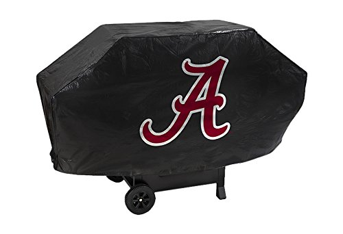 NCAA Alabama Crimson Tide Deluxe Grill Cover (Alabama Grill Accessories compare prices)