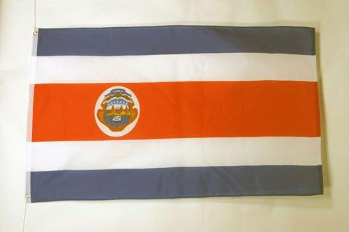 BANDIERA COSTA RICA 150x90cm - BANDIERA COSTARICANA 90 x 150 cm - AZ FLAG