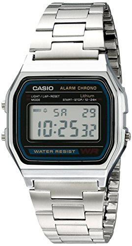 <p>Authentic Casio Watch A158WEA-1EF Brand:Casio Model Number:A158WEA-1EF Item Shape:square Crystal material:Plastic</p>
