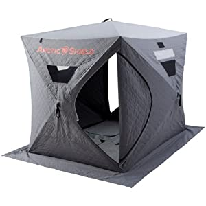 ArcticShield Double Layer Ice Fishing Shelter with Floor by Onyx