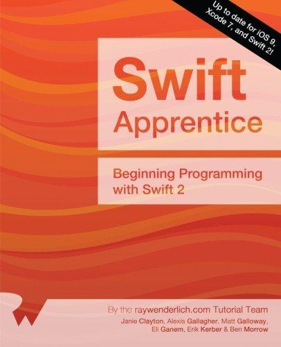 The Swift Apprentice: Beginning Programming with Swift 2