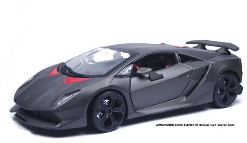 Bburago 1:24 Lamborghini Sesto Elemento (Colors May Vary) (Die Cast Sesto Elemento compare prices)