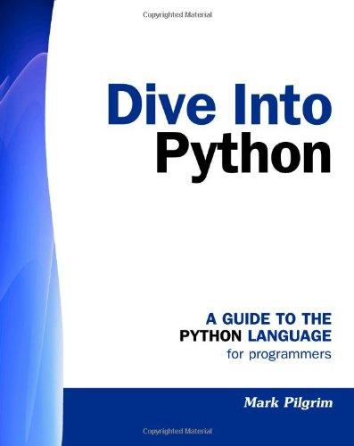 Dive Into Python 1441413022 pdf