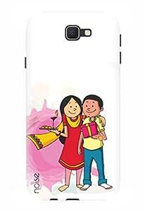 Noise Designer Printed Case / Cover for Samsung Galaxy J5 Prime / Festivals & Occasions / Celebrating Rakhi Design
