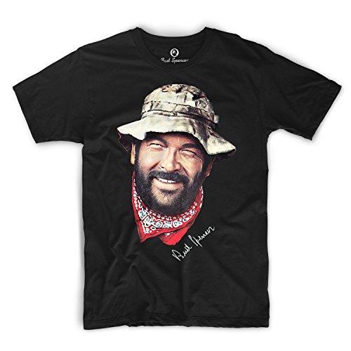 Bud Spencer Official -  T-shirt - Uomo nero XL