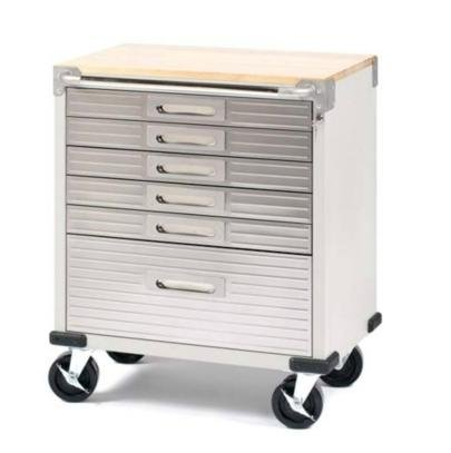 Ultra Heavy-Duty 6-Drawer Cabinet Stainless Steel