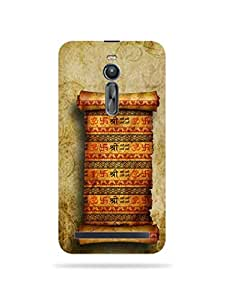 alDivo Premium Quality Printed Mobile Back Cover For Asus Zenfone 2 ZE551ML / Asus Zenfone 2 ZE551ML Back Cover (MKD089)