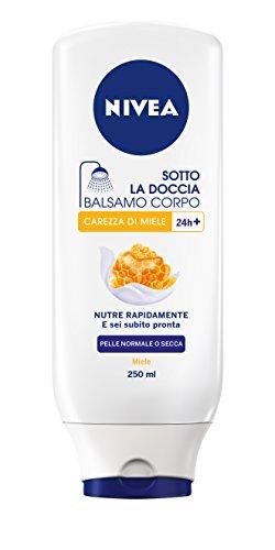 Nivea - Sotto La Doccia Balsamo Corpo Miele & Latte, Pelle Morbida E Coccolata - 250Ml