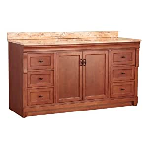 Foremost Nacaseb6122d1 Naples 61 Inch Width X 22 Inch Depth Single Basin Vanity With Stone