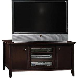 sonoma 48 tv stand mocha cherry television stands. Black Bedroom Furniture Sets. Home Design Ideas
