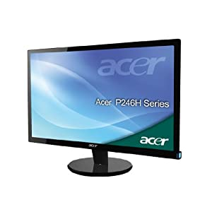 Acer P246HBD 60,9 cm (24 Zoll) widescreen TFT Monitor