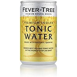 Fever-Tree Premium Indian Tonic Water Fridge-Pack, 3er Fridgepack, 24 (3x8) Dosen (24 x 150ml)