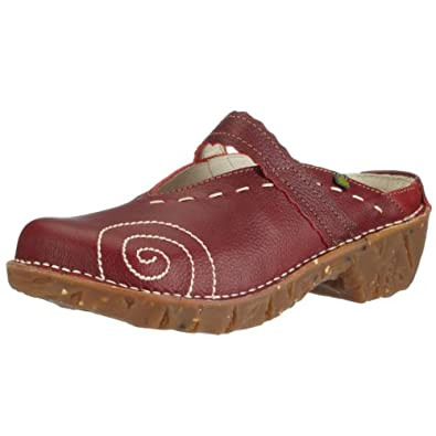 El Naturalista Yggrasil NW096 Damen Clogs & Pantoletten, rot (tibet), EU 36