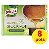 Knorr Vegetable Stock Gel Pots 8 Pack 224g
