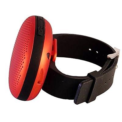 Artis Wrist Band Wireless Portable Bluetooth Speaker Blue Kenyt
