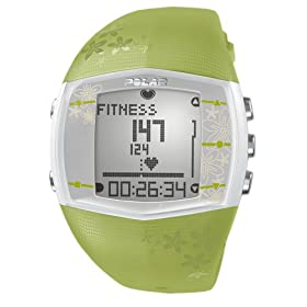 Polar FT40 Women's Heart Rate Monitor Watch (Green)