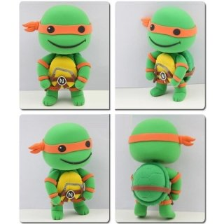 Teenage Mutant Ninja Turtles Michelangelo Model Ultralight 3D Colored Modeling Clay DIY Intelligence Toy by Completestore (Ninja Turtle Barbie compare prices)