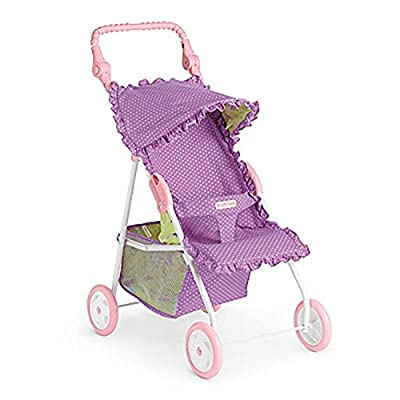 American Girl Bitty Baby Stroller Polka-Dot Purple by Mattel that we recomend individually.