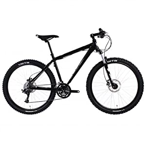 BAMF Nelson Full XC Mountain Bike (Black, 21.5-Inch)