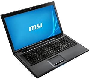MSI CX70-i740M281W7H 43,9 cm (17,3 Zoll) Notebook (Intel Core i7-4702MQ, 2,2GHz, 8GB RAM, 1TB HDD, NVIDIA GT 740M, DVD, Windows 7 Home Premium) schwarz by MSI COMPUTER