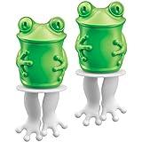 Zoku Individual Character Pops, Frog Ice Pop Mold, Set of 2