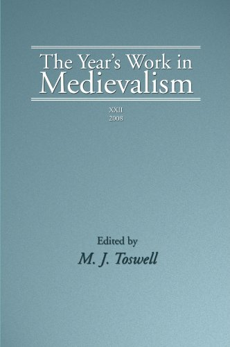 The Year's Work in Medievalism, 2008: