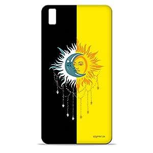 ezyPRNT Divine Solar and Lunar Deities Hard Back Case For HTC Desire 816
