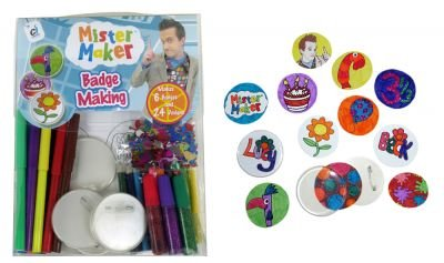 Mister Maker Badge Making Kit