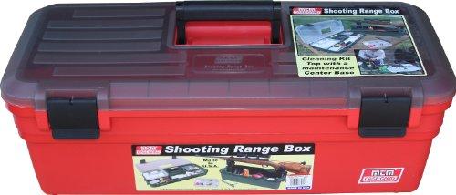 MTM Shooting Range Box (Red)