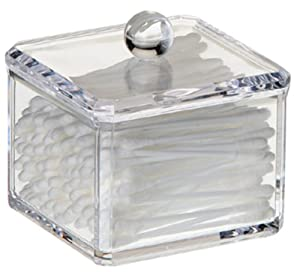 Danielle Square Acrylic Cotton Ball Holder