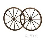 36 inch Wooden Wagon Wheels