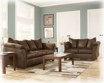 Expresso Sofa set by Ashley Furniture