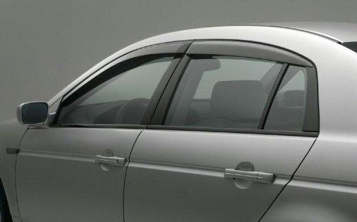 2004 2008 acura tl oem door visors hanaonooeoa for 04 acura tl oem window visors