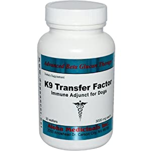 Aloha Medicinals Inc. K-9 Transfer Factor 60wafers from Aloha Medicinals Inc.