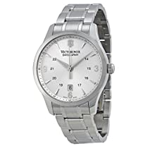 Victorinox Swiss Army Classic Alliance Mens Silver Face Watch 241476