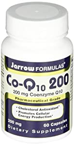 Jarrow Formulas Co-Q10 200, 200 Mg, 60 Capsules by jarrow formulas