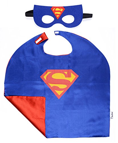 Superhero-Cape-and-Mask-Costumes-For-Kids-SET-Capes-Masks-Stickers-and-Tattoos