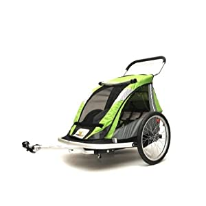 Kidarooz 535 2-In-1 2-Child Bike Trailer/Stroller (00113201)
