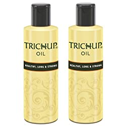 Trichup Healthy Long and Strong Hair Oil 200 ml, (Pack of 2)