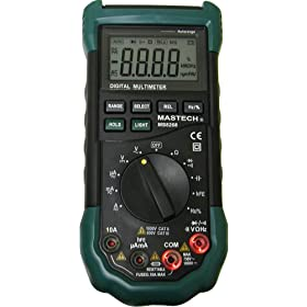 MASTECH AC/DC Auto/Manual Range Digital Multimeter, MS8268