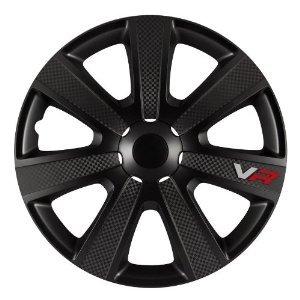 Radkappe Radzierblenden Radkappen Vr Carbon Style 16 Black Passend Fr Subaru von Petex