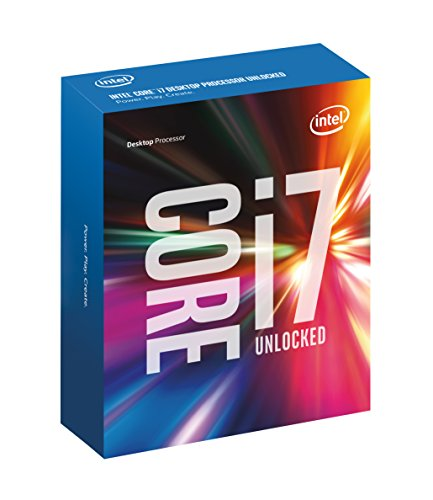 Intel Core i7 6700K 4.00 GHz Unlocked Quad Core Skylake Desktop Processor,...