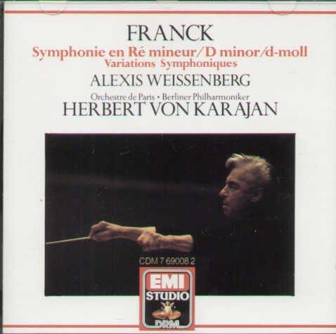 Franck: Symphony in D Minor, Symphonic Variations (Franck Symphony In D Minor compare prices)