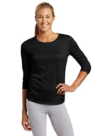 ASICS Women's Core Long Sleeve Shirt, Black, Small