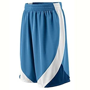 Wicking Duo Knit Basketball Game Shorts from Augusta Sportswear