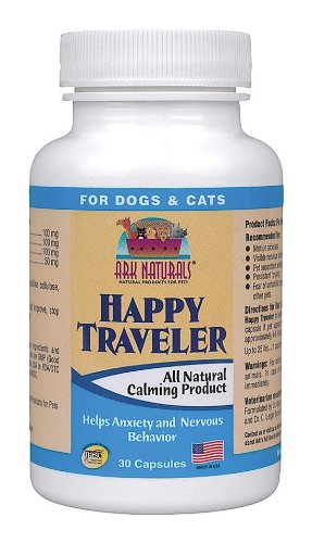 Ark Naturals - Happy Traveler For Dogs & Cats, 30 capsules