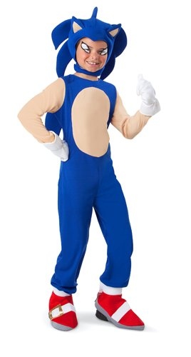 Kids Sonic The Hedgehog Video Game Costume